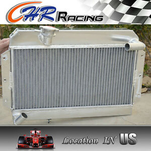 Aluminum Radiator For Rover Mg Mga 1500 1600 1622 De Luxe