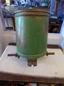 Vintage John Deere Corn Seeder Planter Hopper Box Tractor Four Leg 1940 s