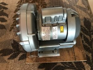 Gast Regenerative Blower Model R3105 12 1 3 Hp Volts 110 220 240