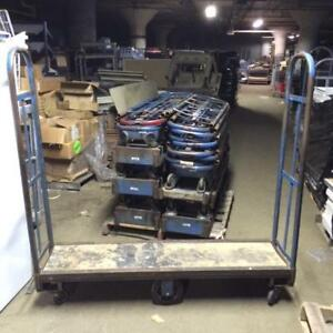 U Boat Stock Carts Lot 8 Used Store Warehouse Uboats Fixtures Equipment Handling