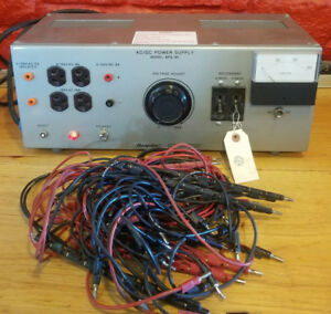 Nice Hampden Model Bps 101 Ac dc Variable Bench Power Test Supply Sfi