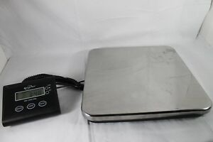 Weighmax 330lb Industrial Postal Floor Weight Scales Electronic Digital Package