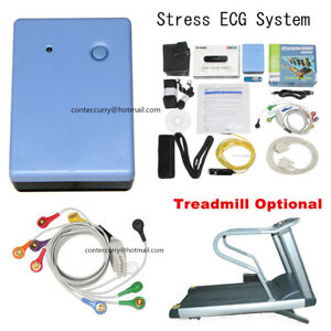 Contec8000s Stress Ecg Systems wireless Exercise 12 lead Ecg Recorder Software