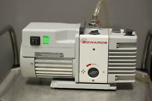 Edwards Rv5 Dual Stage Vacuum Pump 2015 Model Used Tested Excellent