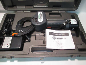Greenlee Gator Es750 12v Cordless Battery Wire Cable Cutter Similar Burndy