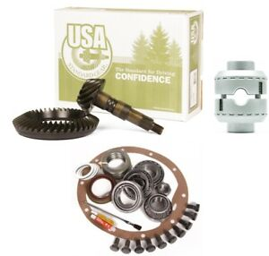 94 06 Jeep Yj Tj Xj Dana 35 Rear 4 56 Ring And Pinion Aussie Locker Usa Gear Pkg