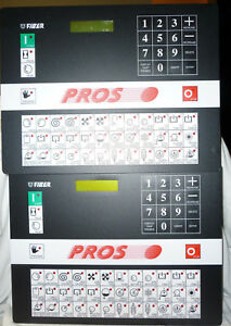 2 Fiber El7 Dry Cleaning Controller Microprocessor Computer Boards Pros Vectra