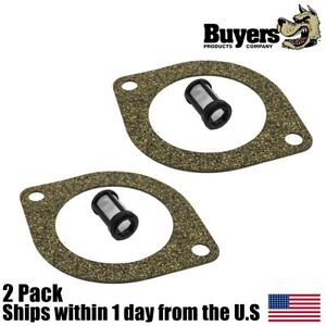 2pk Gasket Suction Filter For Western Unimount Snow Plows 25861 5822 56185 7053