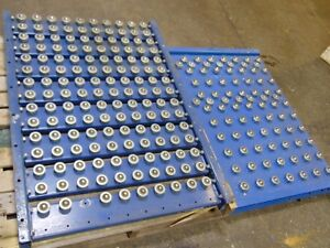 2 Gravity Roller Ball Conveyor Sections