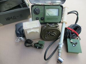 Military Geiger Counter Dosimeter Imd 5 With Sbm 20 sts 5 Si3bg Tube Set