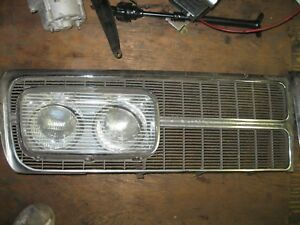 1965 Chrysler Imperial Grille And Headlight Covers