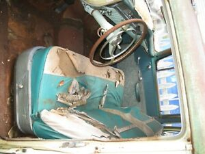 1956 Oldsmobile Front Seat Lawn Yard Couch