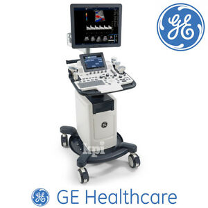 19 Ge Logiq F8 Ultrasound Machine System With Ob Vascular Calc Sri Hd Dicom