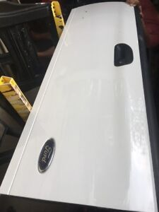 99 07 Ford Super Duty F 250 350 97 03 F 150 Tailgate Tail Gate White Oem No Rust