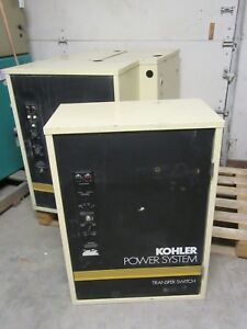 Kohler Automatic Transfer Switch K 164231 0150 150a 240v 1phase 2pole 3wire 60hz