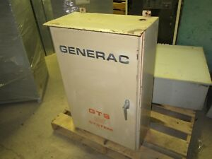 Generac Ats Automatic Transfer Switch Gts105 0155 1 105a 120 208v 60hz Warranty
