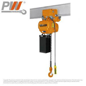 Prowinch Electric Chain Hoist Power Trolley 2 200 Lbs 20 Ft G100 Chain