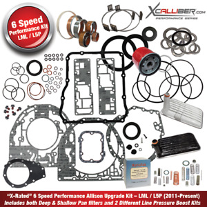 29547606 X Performance Rebuild Kit For Allison Transmissions Gm 6 Spd Lml Type