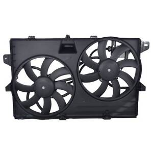 Dual Radiator Cooling Fan Assembly For 07 15 Ford Lincoln Mkx Edge 7t4z 8c607 a