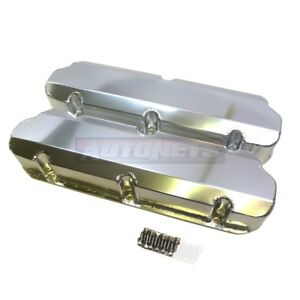 Sbf Fabricated Valve Covers Tall 289 302 351w 5 0l Small Block Ford No hole
