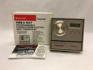 Honeywell T498 S 1017 Programmable Chronotherm Electric Heat Thermostat