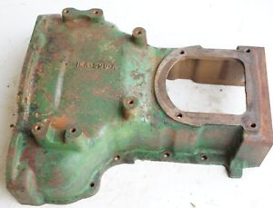Clutch Bell Housing Z Top Cover Oliver 550 Gas Diesel Utility Tractor White 2 44