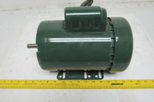 Dayton 6k727s Farm Duty 1 Hp Electric Motor 1725rpm 115 230v 1 Ph 56h Frame