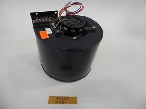 Fasco 63b1 Fan Motor With Squirrel Cage Assembly 208 230 460 V 1330 1600 Rpm