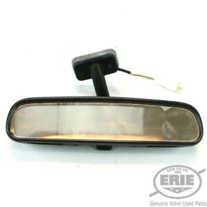 Volvo Oem Rear View Mirror W manual Dimming Fits C70 98 04 Convertible