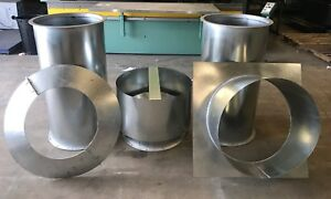 42 Dia Vertical Spray Paint Booth Exhaust Package