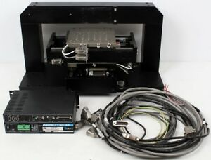 Aerotech Als20010 es15219 Lt10as rsf X y Axis Linear Motor Positioning Stage