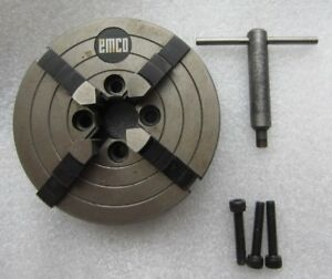 Emco Compact 5 Lathe 4 Jaw Independent Chuck