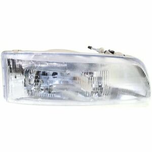 Headlight For 91 92 93 Toyota Previa Right Halogen Clear Lens With Bulb