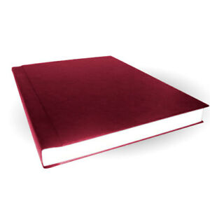 11 X 8 5 Maroon Size B 1 2 Velobind Hard Cover Cases 25pk
