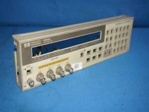 Hewlett Packard 4263a Lcr Meter Front Panel Cover