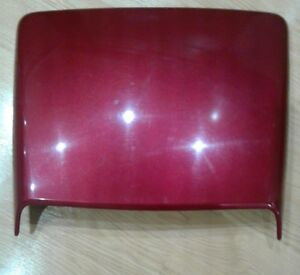 1999 2004 Ford Mustang Hood Scoop With Insert Ruby Red Oem