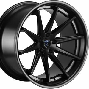 19 Staggered Rohana Rc10 19x8 5 19x9 5 Black Concave Wheels Rims