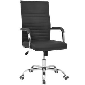 Artificial Leather Lounge Office Lobby Chair Seat Computer Desk Waiting Room