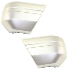 94 95 96 Cherokee Front Bumper Face Bar Extension End Left Right Side Set Pair