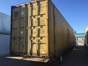40 High Cube Cargo Worthy shipping storage Containers los Angeles