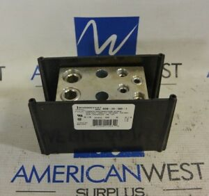 Burndy Bdb 24 500 1 Power Distribution Block 600v