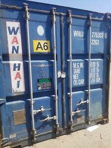 20 Cargo Worthy Shipping storage Container In Stock Local Yard In Bakersfield
