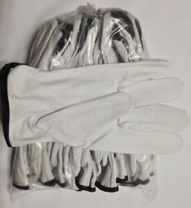 Wells Lamont Men s Cowhide Leather Work Gloves lot Of 10 All Sizes Available