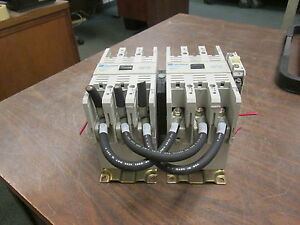Cutler hammer Reversing Contactor Ce15mn3 120v Coil 105a 600v W 2 Aux Contacts