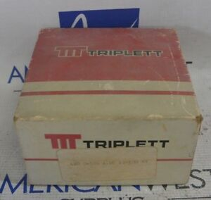 Triplett 420 0 100a dc Fs 100 Mv Meter New In Box