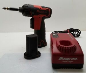 Snap on Cts661 7 2v 1 4 Screwdriver With 2 Lithium Batteries And Charger