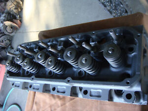 Ford Mustang 351c 2 V Open Chamber Cylinder Heads Mach 1 Screw In Studs Guide