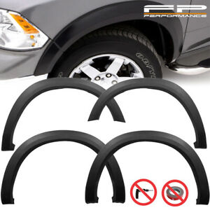 Wicked For 2009 2018 Dodge Ram 1500 Factory Oe Style Fender Flares Wheel Cover