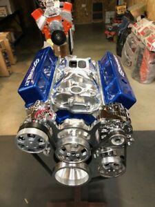 383 Stroker Crate Motor 400 500hp Sbc With A C Roller Turn Key Sbc Below Cost