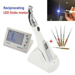 Dental Cordless Endo Motor 2 Led Holder 16 1 Denjoy Apex Locator Niti Files